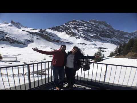 Switzerland 4 Days Trip - March 2017