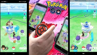 Dual CatchMon Review - Pairing and using the Dual CatchMon within Pokemon Go