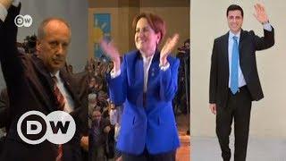 Erdoğan'ın en güçlü üç rakibi ile zaman yolculuğu - DW Türkçe