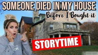 NEW HAUNTED HOUSE STORYTIME | CHANNON ROSE