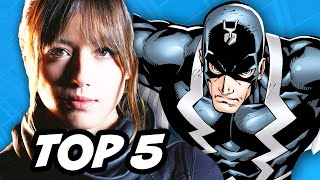 Agents Of SHIELD Season 2 Episode 21 Finale  - Caterpillar Inhumans