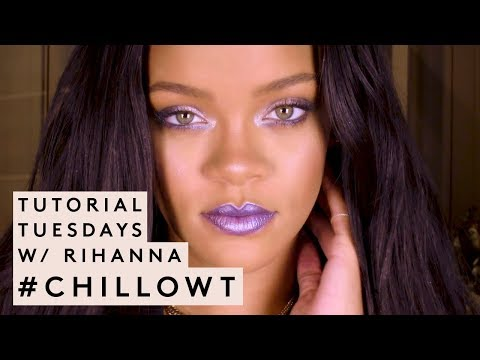 Lady Ray - #RiRi Is Back With Another Makeup Tutorial to Help You CHILL (VIDEO)