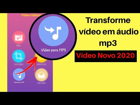 Rapido E Facil Como Transformar Video Em Audio No Celular Android 2020 Youtube