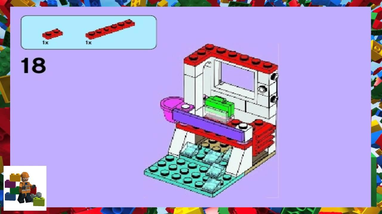 Lego Instructions Lego Friends 41028 Emmas Lifeguard Post Youtube