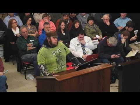 Citizen's hilarious rant at Bloomington, IL city council meeting