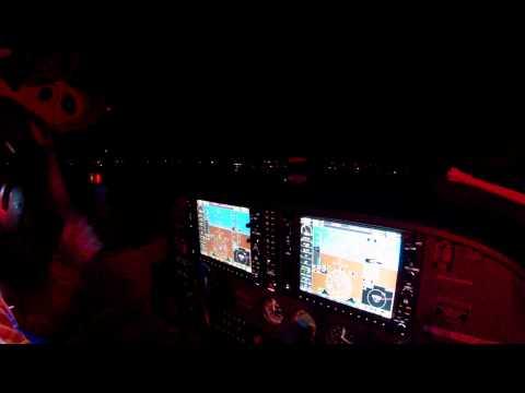 C172/G1000: KALB-KISP KILL THE LIGHTS=JET LANDING