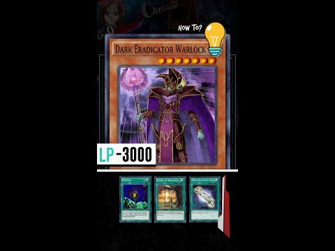 "Yugioh Duel Links - How to make a Powerful ""Dark Eradicator Warlock""?"