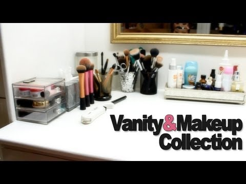 Vanity Tour & Updated Makeup Collection