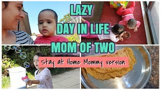 MORNING ROUTINE SAHM 2019 | MOM OF 2 TODDLERS | REAL LAZY DAY IN LIFE