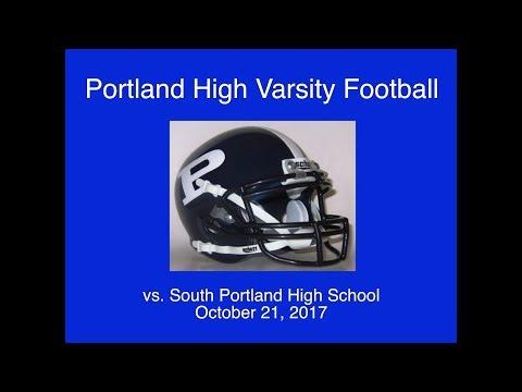 Portland High Varsity Football vs. South Portland October 21, 2017
