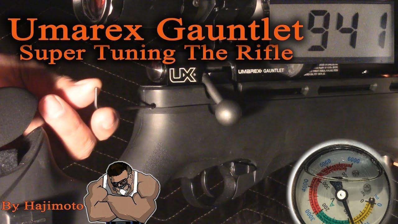 Umarex Gauntlet: Tune Kit Results