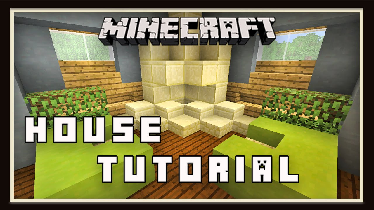 Modern Living Room Minecraft minecraft: how to build a small modern house (part 3 living room