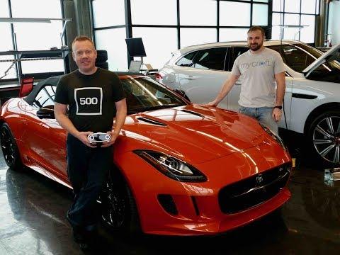 Mycroft Demo in Jaguar F-Type Sports Car