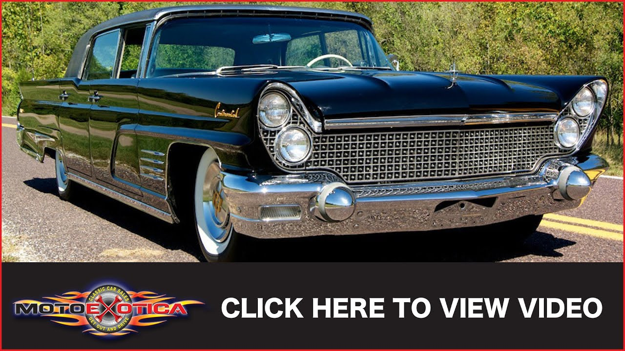 1960 Lincoln Continental Mark V Sold