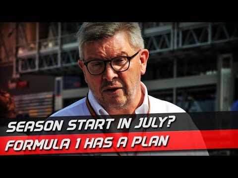 Ross Brawn Outlines F1's 2020 Season Start Plan