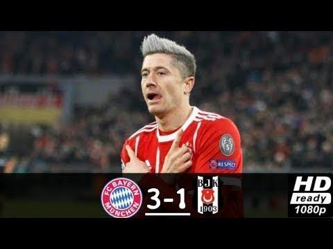 Download Besiktas vs Bayern Munich 1-3 Resumen Highlights UCL 14/03/2018