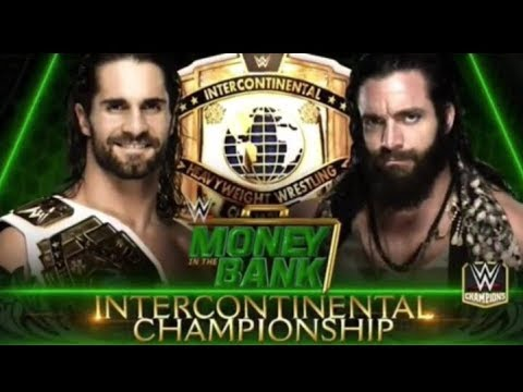 WWE Money in the Bank 2018 Full Match Card