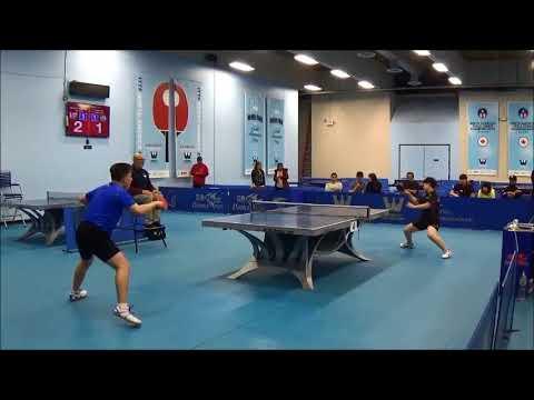 Westchester Table Tennis Center January 2018 Open Singles Final