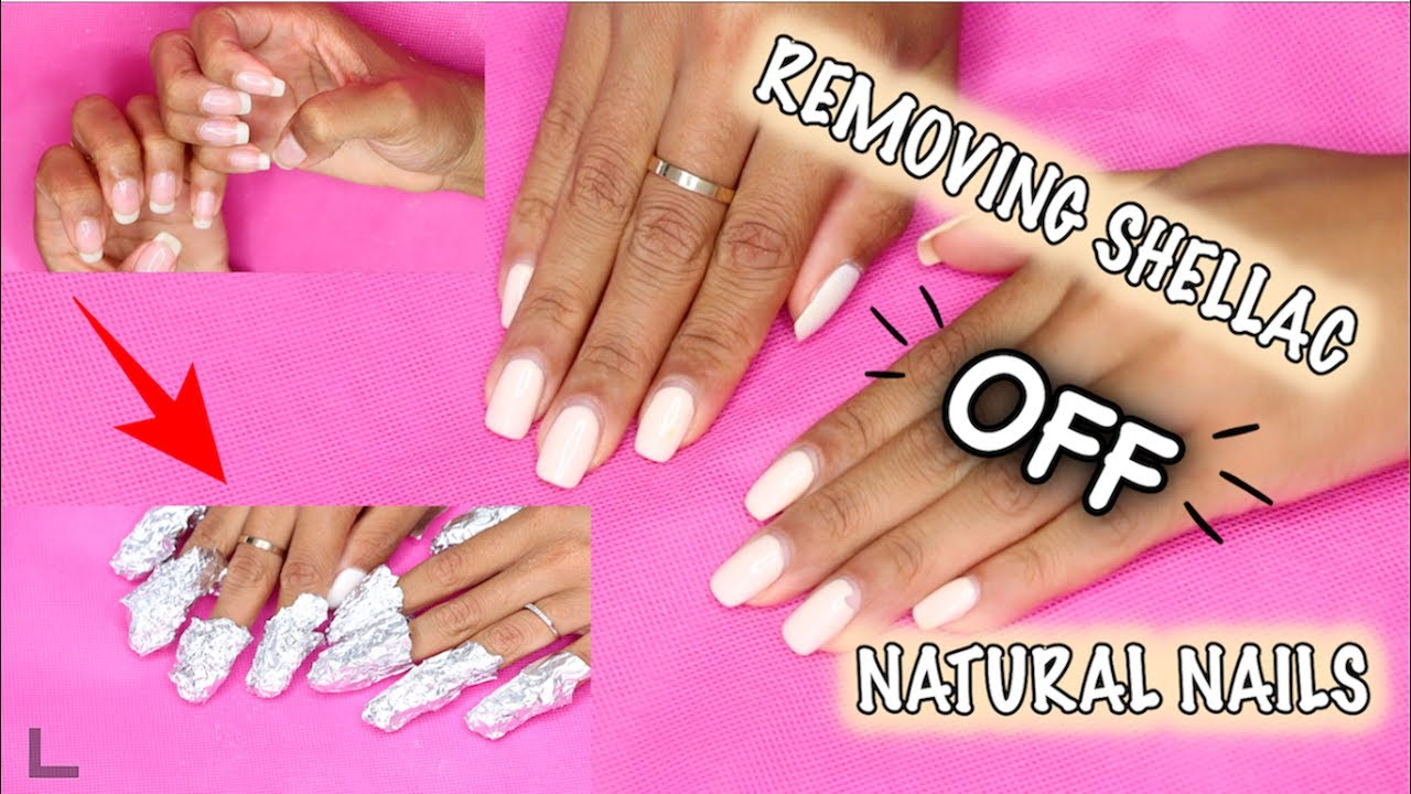 How to remove shellac