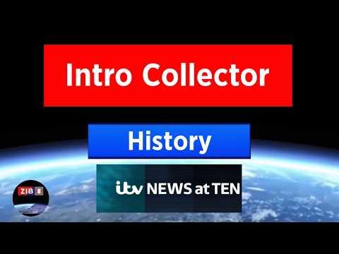 History of ITV News at Ten Intros