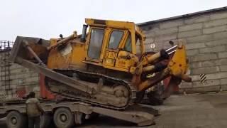 Пример транспортировки бульдозера;