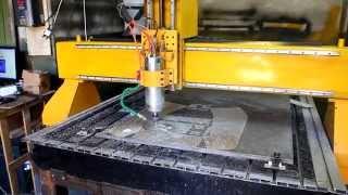 Фрезерование алюминия на ЧПУ станке CNC-1325 производства завода Twitte(, 2015-07-08T12:35:09.000Z)