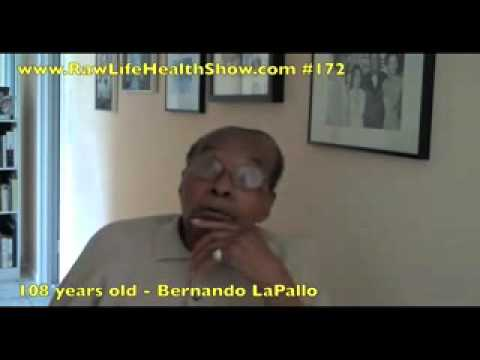Age Less, Live More by Bernando LaPallo 109 Years Old in 2010