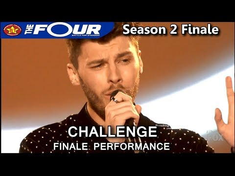 "James Graham sings ""Hello"" (by Adele) Challenge Performance round 2 The Four Season 2 FINALE S2E8"