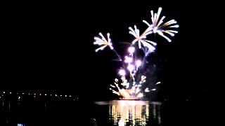 "Шоу фейерверков ""Серебряная ладья"" 2012 Кострома"