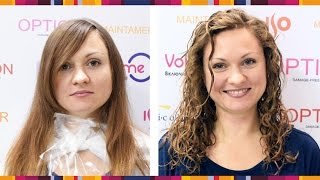 Семинар по BiOзавивке волос на выставке InterCHARM 2015. #ISORUSSIA