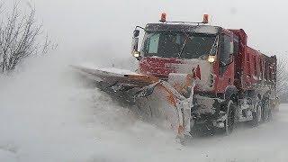 Snježna mećava na Vlašiću