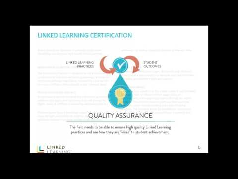 Introduction to Linked Learning Certification