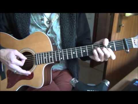 Ich fühl wie du (aus Tabaluga) - Tutorial / Unterricht für Gitarre - Peter Maffay