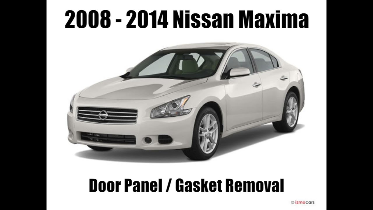 small resolution of 2008 2014 nissan maxima door panel removal