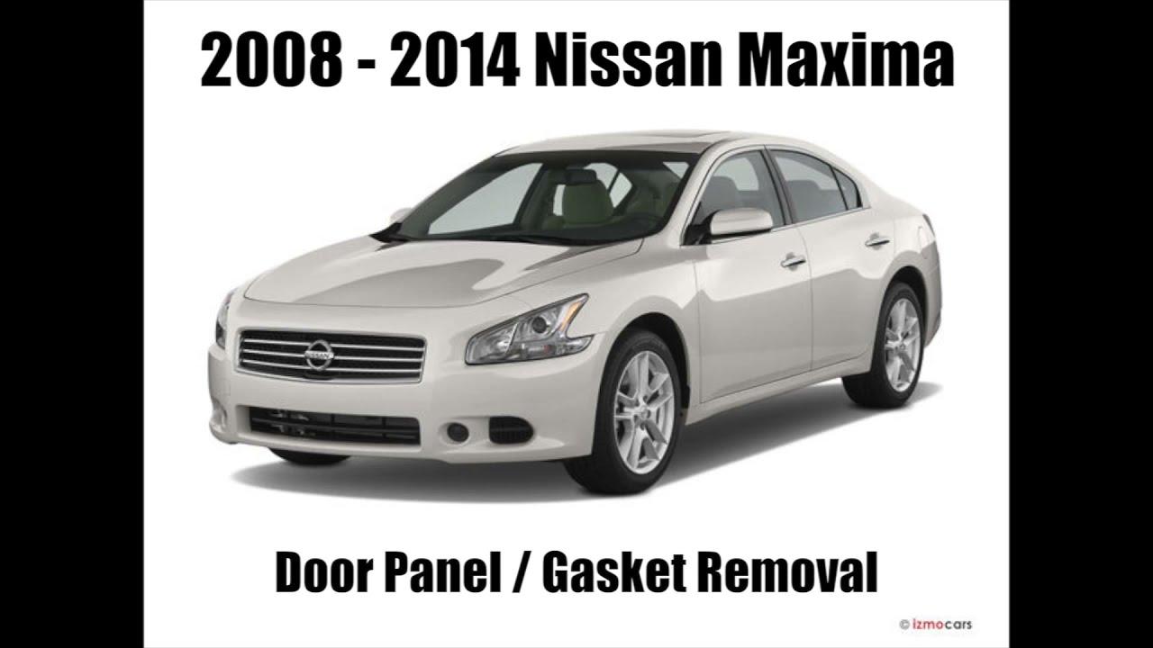 hight resolution of 2008 2014 nissan maxima door panel removal