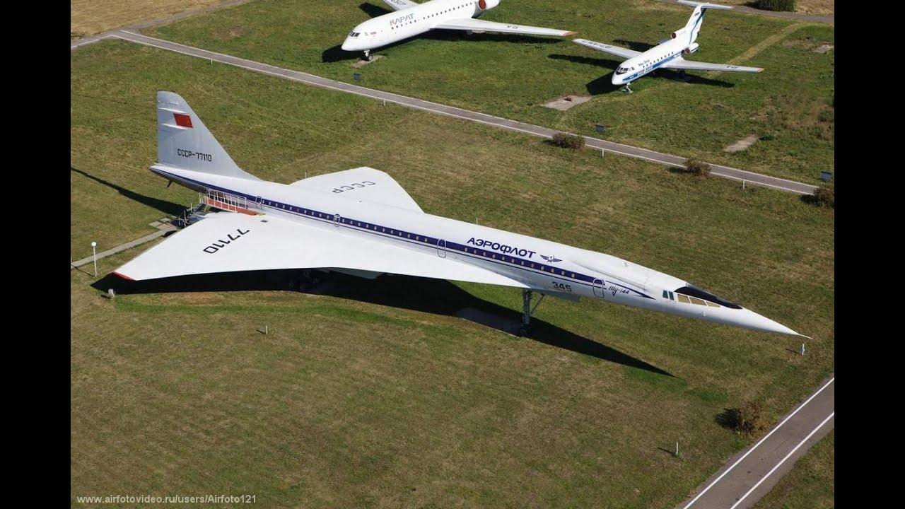 Легендарный, сверхзвуковой самолет Ту-144 история создания ...