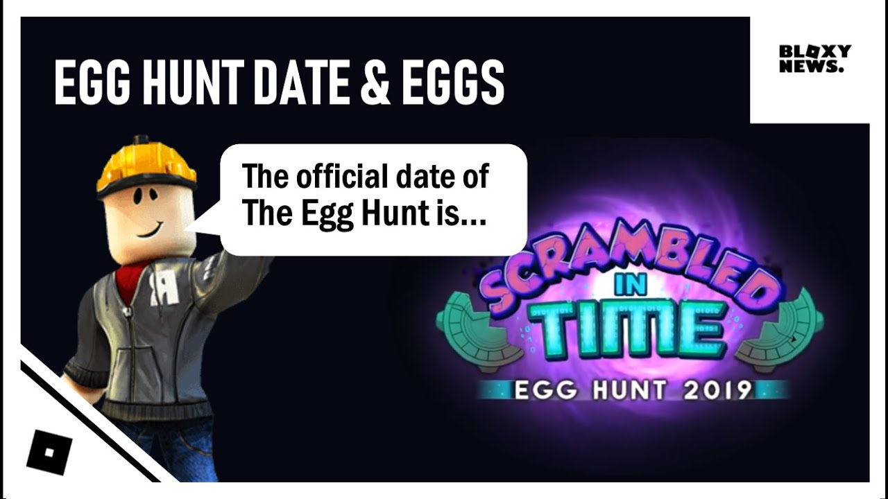 Egg Hunt 2019 Official Date All Eggs Youtube