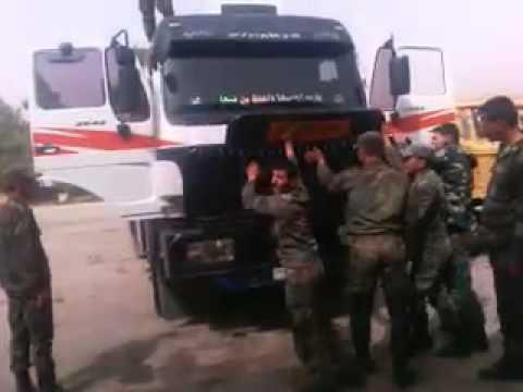 الجيش يصادر شاحنة ٠  صفحة ولا في الخيال
