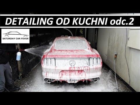 DETAILING OD KUCHNI - odc.2 MYCIE DETAILINGOWE - Ford Mustang GT V8 VLOG
