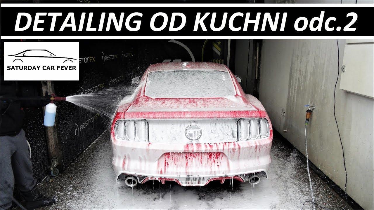 DETAILING OD KUCHNI – odc.2 MYCIE DETAILINGOWE – Ford Mustang GT V8 VLOG