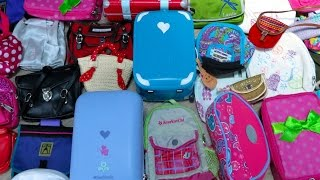 Packing for American Girl Doll