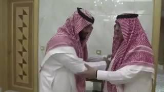 الأمير محمد بن نايف يبايع محمد بن سلمان وليا للعهد