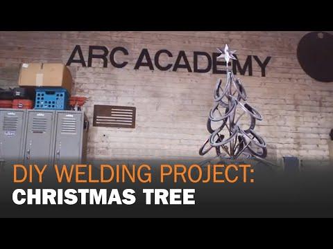 DIY Welding Project: MIG Welding a Christmas Tree