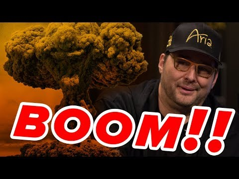 Hellmuth Goes NUCLEAR Against Twitch Poker Pro | Match 2 Round 2 - King of the Hill 2