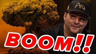 Hellmuth Goes NUCLEAR Against Twitch Poker Pro | Match 2 Round 2 A - King of the Hill 2