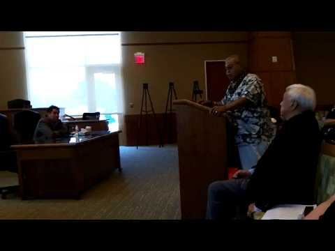 Part 9: DOI Native Hawaiian Recognition Hearing in Connecticut August 7, 2014