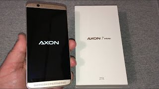 ZTE Axon 7 Mini Unboxing & First Look