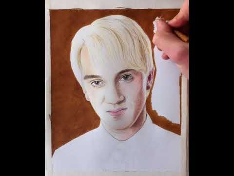 Drawing Harry Potter Draco Malfoy Youtube