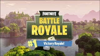 Será Que Foi A Minha Primeira Vitória!? Fortnite Battle Royale