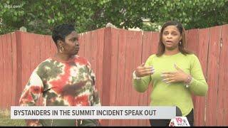 Bystanders in viral Summit neighborhood incident speak out
